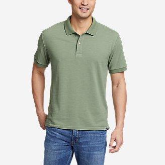 Men's Classic Field Pro Short-Sleeve Polo Shirt in Green
