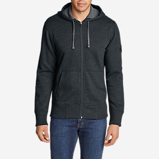Men's Cascade Falls Full-Zip Hoodie in Blue