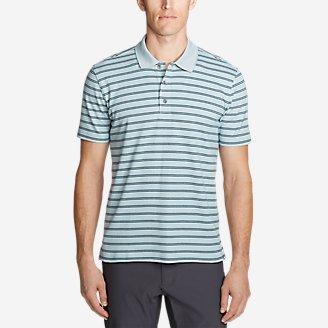 Men's Voyager 2.0 Short-Sleeve Polo Shirt - Stripe in Blue