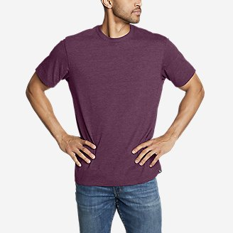 Men's Legend Wash Pro Short-Sleeve T-Shirt - Classic in Red