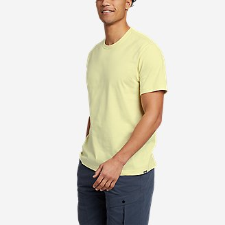 Men's Legend Wash Pro Short-Sleeve T-Shirt - Classic in Yellow
