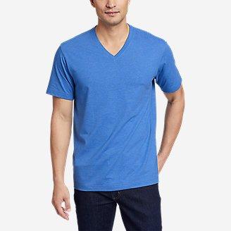 Men's Legend Wash Pro Short-Sleeve V-Neck T-Shirt in Blue