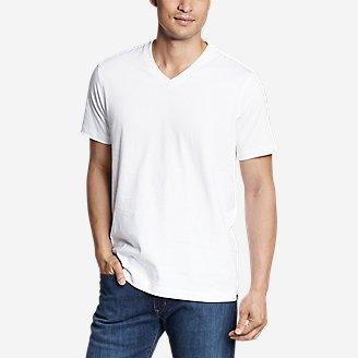 Men's Legend Wash Pro Short-Sleeve V-Neck T-Shirt in White