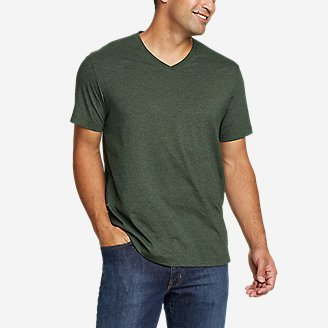 Men's Legend Wash Pro Short-Sleeve V-Neck T-Shirt in Green