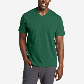 Men S V Neck T Shirts Eddie Bauer