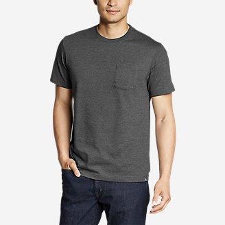 Men's Legend Wash Pro Short-Sleeve Pocket T-Shirt in Black