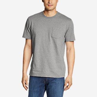 Men's Legend Wash Pro Short-Sleeve Pocket T-Shirt in Gray