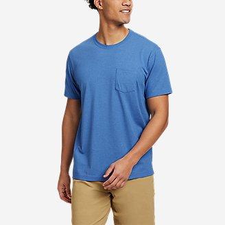 Men's Legend Wash Pro Short-Sleeve Pocket T-Shirt in Blue