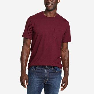 Men's Legend Wash Pro Short-Sleeve Pocket T-Shirt in Red