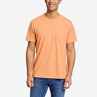Men's Legend Wash Pro Short-Sleeve Pocket T-Shirt in Orange