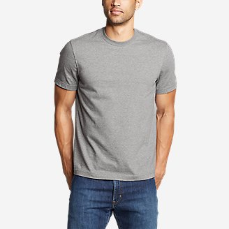 Men's Legend Wash Pro Short-Sleeve T-Shirt - Slim in Gray