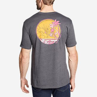 Men's Graphic T-Shirt - Florida in Gray