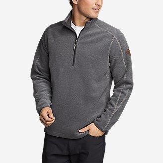 Men's Mountain Fleece 1/2-Zip in Gray