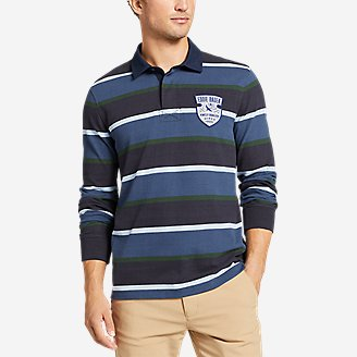 Men's Rugby Shirt in Blue
