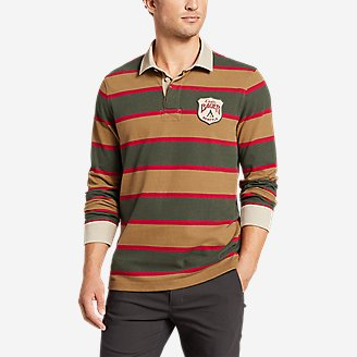Men's Rugby Shirt in Green