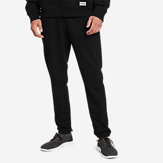 Men's Camp Fleece Jogger Pants in Black