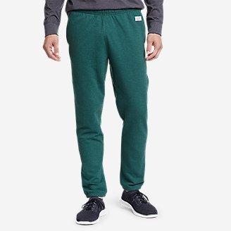 Men's Camp Fleece Jogger Pants in Green