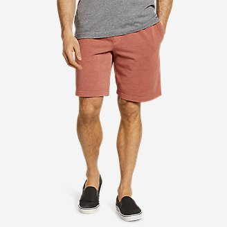 Men's Camp Fleece Riverwash Shorts in Orange