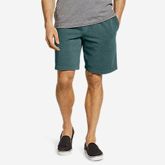 Men's Camp Fleece Riverwash Shorts in Green