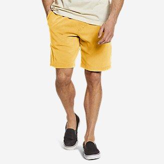 Men's Camp Fleece Riverwash Shorts in Yellow