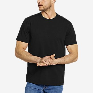 Men's Adventurer Short-Sleeve T-Shirt in Black