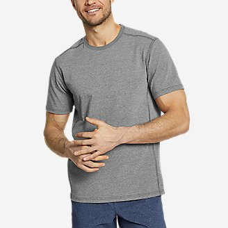 Men's Adventurer Short-Sleeve T-Shirt in Gray