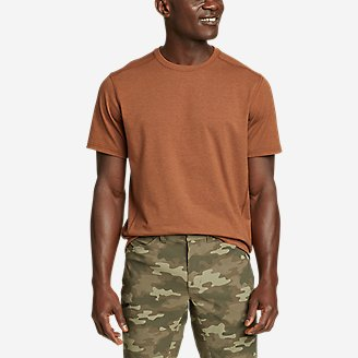 Men's Adventurer Short-Sleeve T-Shirt in Red