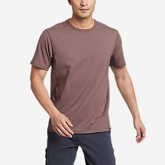 Men's Adventurer Short-Sleeve T-Shirt in Purple