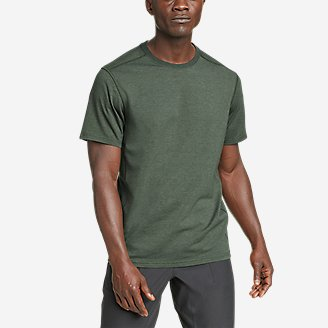 Men's Adventurer Short-Sleeve T-Shirt in Green