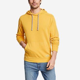 Men's Camp Fleece Riverwash Pullover Hoodie in Yellow