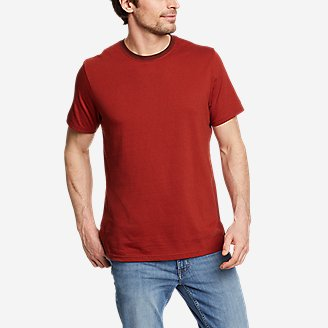 Men's Legend Wash Pro Short-Sleeve T-Shirt - Stripe in Red