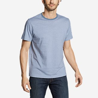 Men's Legend Wash Pro Short-Sleeve T-Shirt - Stripe in Blue