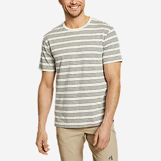 Men's Legend Wash Pro Short-Sleeve T-Shirt - Stripe in White