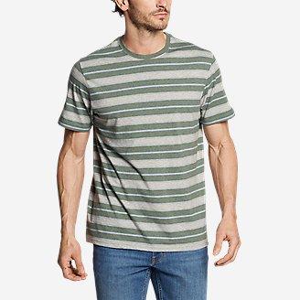 Men's Legend Wash Pro Short-Sleeve T-Shirt - Stripe in Green