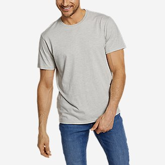 Men's Legend Wash Pro Short-Sleeve T-Shirt - Stripe in Gray