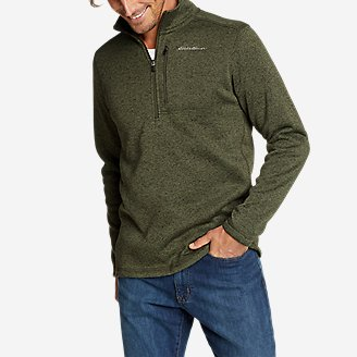 Men's Radiator 2.0 1/2-Zip in Green