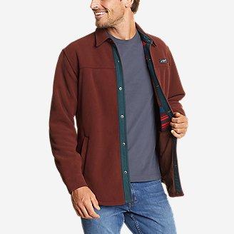 Men's Chutes Pro Shirt Jacket in Brown