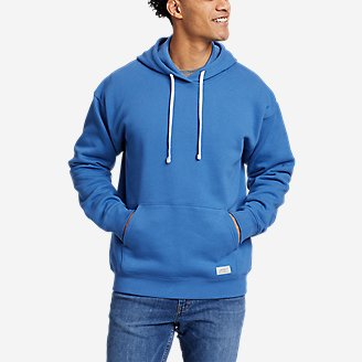 Eddie Bauer Signature Pullover Hoodie in Blue
