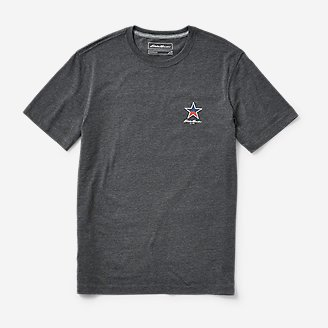 Men's Graphic T-Shirt - US National Parks in Gray
