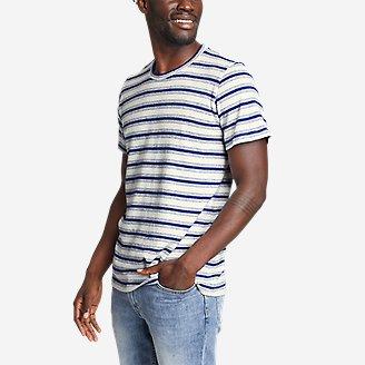 Men's Jungmaven X Eddie Bauer Jung T-Shirt - Stripe in Blue