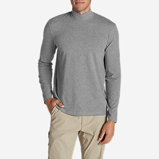 Men's Lookout Mockneck in Gray