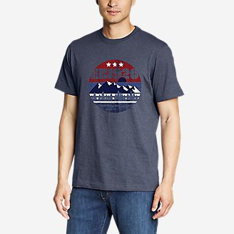Men's Graphic T-Shirt - 1920 in Blue
