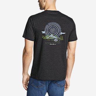 Graphic T-Shirt - Eddie. Set. Go. in Black
