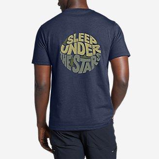 Graphic T-Shirt - Endless Pursuit in Blue