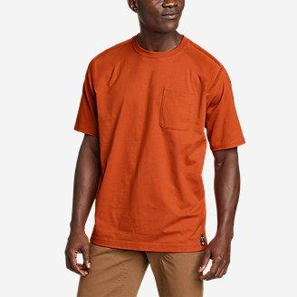Men's Mountain Ops Short-Sleeve T-Shirt in Orange