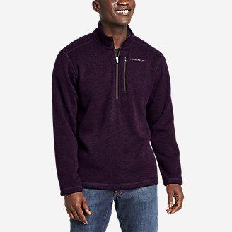 Men's Convector 1/2-Zip in Purple