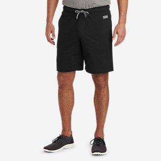 Men's Camp Fleece Shorts in Black
