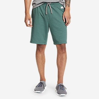 Men's Camp Fleece Shorts in Blue