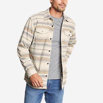 Men's Chutes Microfleece Shirt in Beige