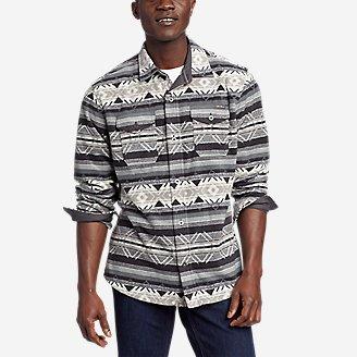 Men's Chutes Microfleece Shirt in Black